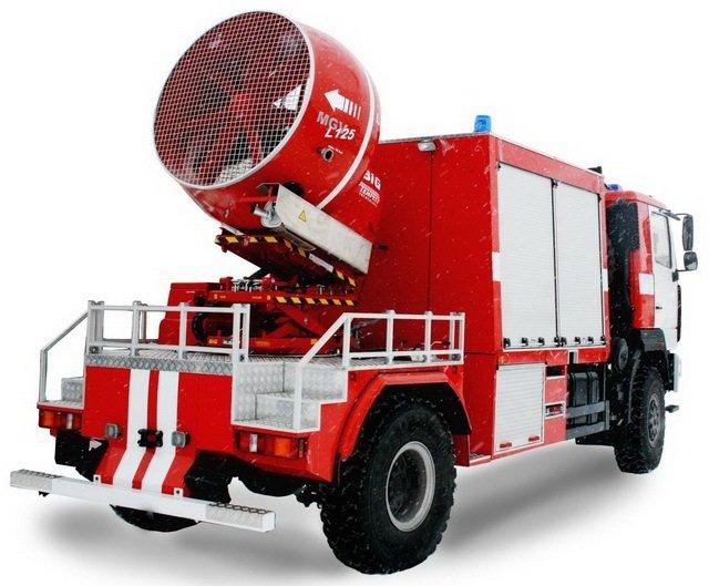 АД (МАЗ 5309) - Автомобиль дымоудаления: Фотография