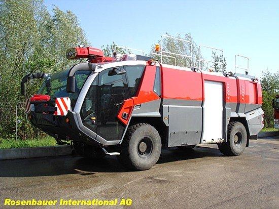 Аэродромные автомобили серии PANTHER - Rosenbauer International AG