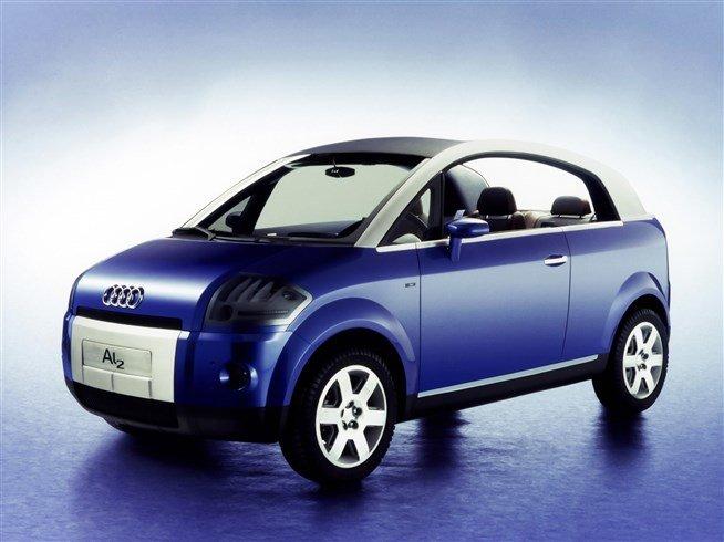 Audi Al2 Open End Concept (1997) — Мегаэнциклопедия Кирилла и Мефодия — медиаобъект