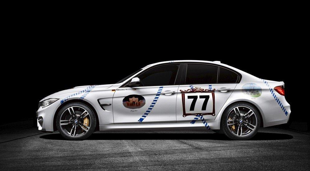 "Баварцы ""дрифтанут"" на Октоберфесте за рулём BMW M3 Münchner Wirte - Колеса.ру"