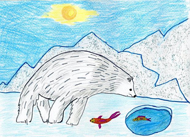Белый медведь / Безрукавный Тимофей (7 лет)