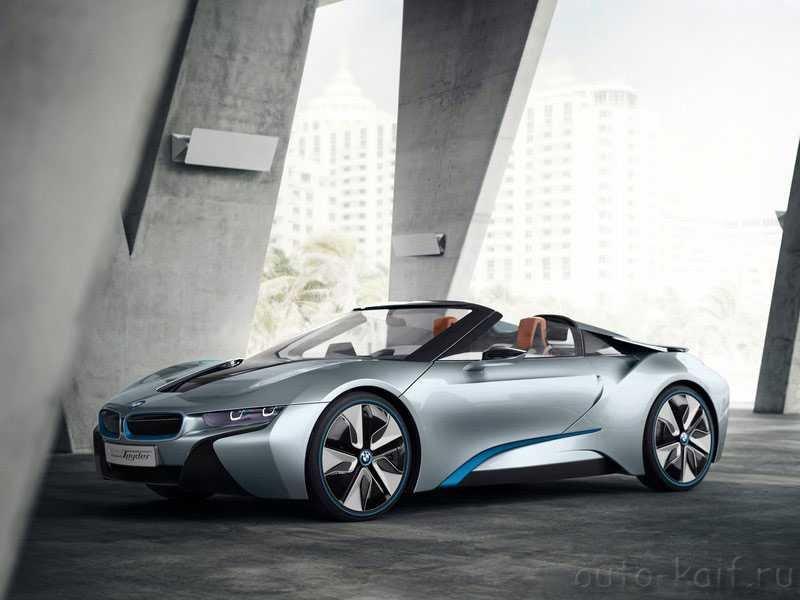 BMW i8 Spyder concept 2013 - инновационный Спайдер АЙ8 от БМВ - Блог Авто любителей, фото, цены, характеристики, технические данные, обзоры и авто новости.