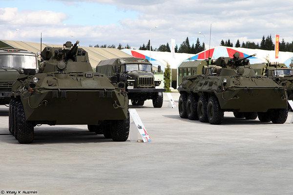 БТР-82А и БТР-80А (BTR-82A and BTR-80A)