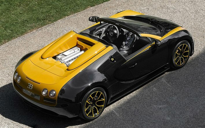 "Bugatti Veyron Grand Sport Roadster ""Vitesse"" ""One of One"""