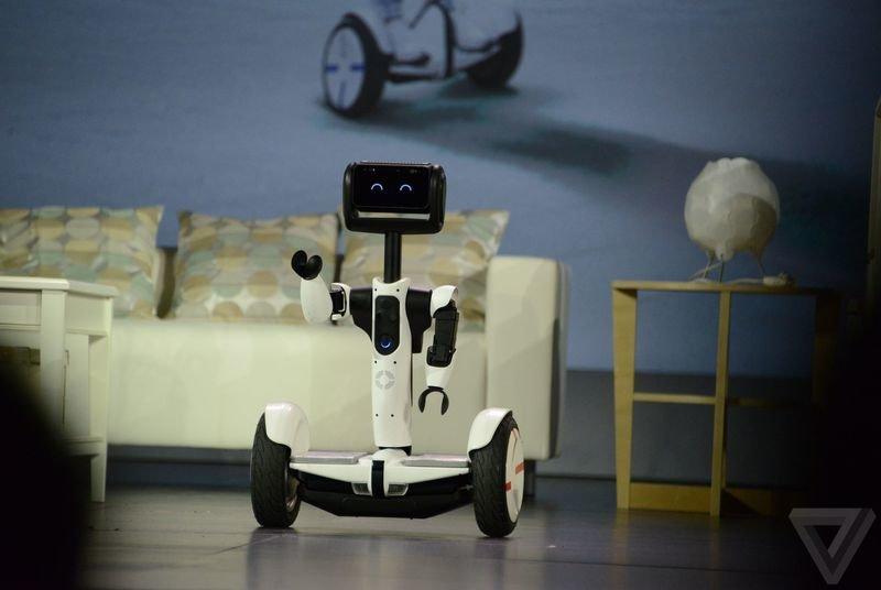 CES 2016: Segway-робот — Wylsacom