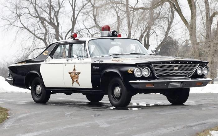 Chrysler Newport Police Cruiser 1963 - автомобили  - Фотоальбомы - pictures,картинки