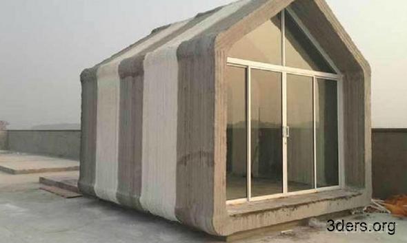 Дом на 3D-принтере (7 фото)