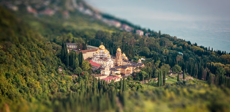 Эффект Tilt-shift в Photoshop CS6