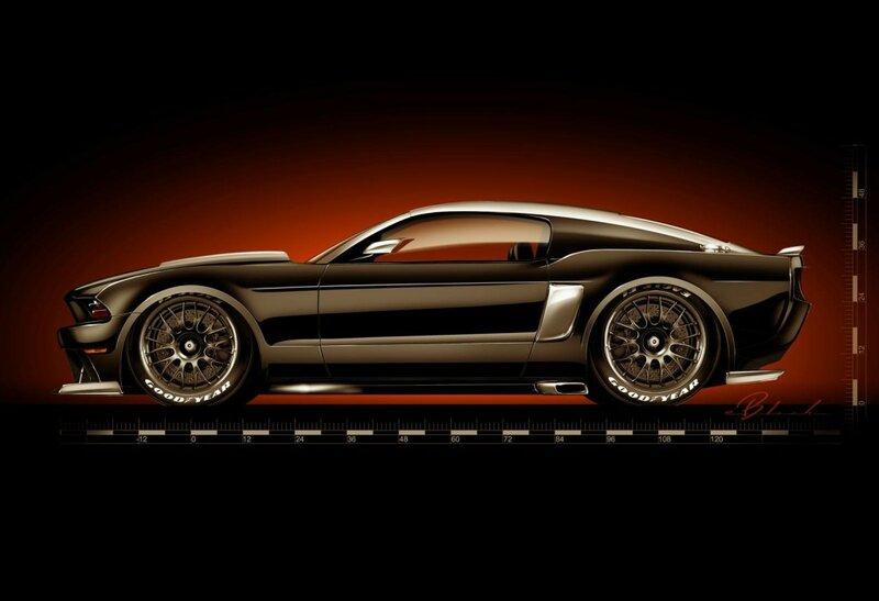 Ford подготовил для автошоу SEMA 2013 две специальные версии Mustang