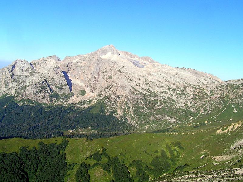 Фото окрестностей горы Фишт.