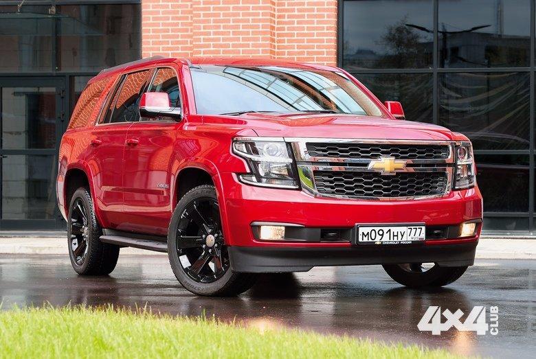 Гигант Chevrolet Tahoe поражает даже в самой простой комплектации