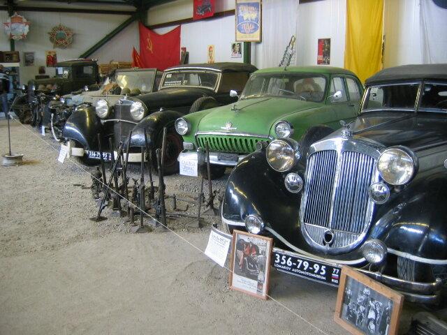 Horch-853, 1935. Легковые авто из Ломаковского Музея автомотостарины.   Cars in Lomakov Museum.