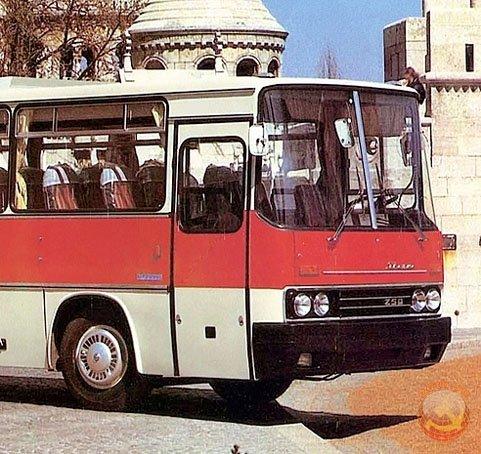 """""""Икарус"""" комфортабельный автобус советских граждан"""