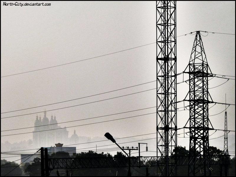 Индустриальный пейзаж (Фотография) | Убежище