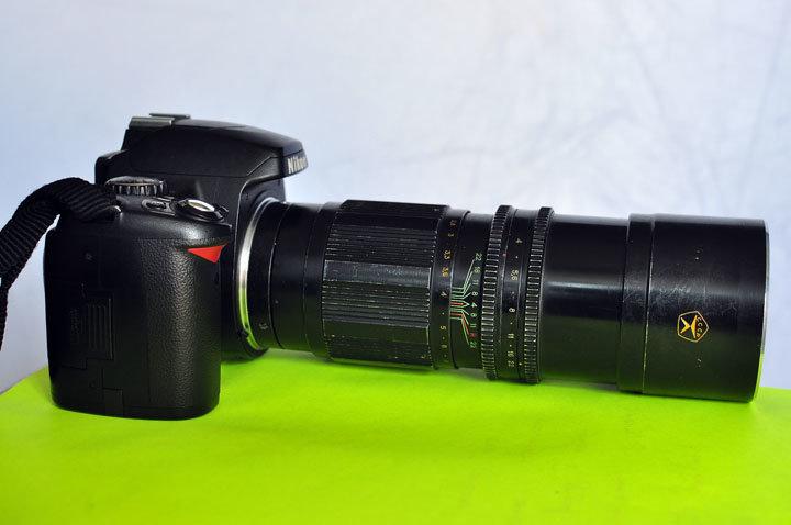 Юпитер-21А вна современной камере