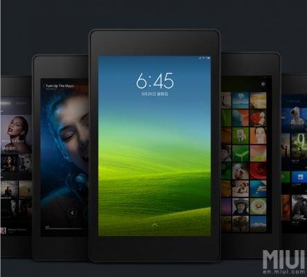Компания Xiaomi представила фирменную прошивку MIUI дляпланшетов