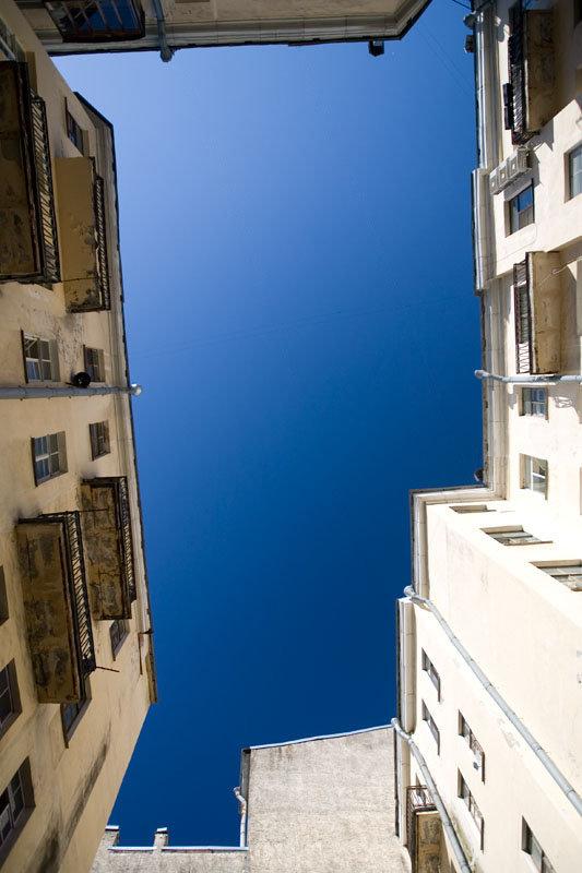 Контрастные фото неба