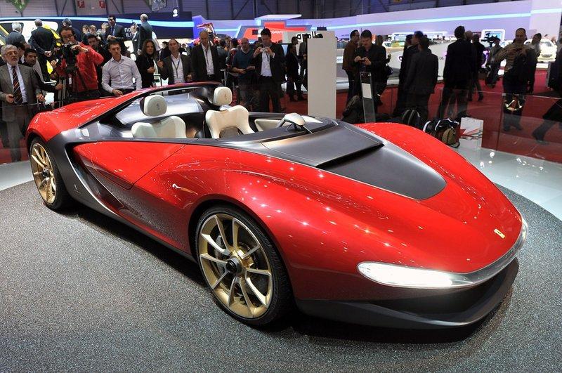 Концепт-кар Pininfarina Sergio - фото - LiveCars.Ru