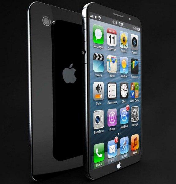 Концепт нового Apple iPhone 6 с большим экраном   IT сливки :!