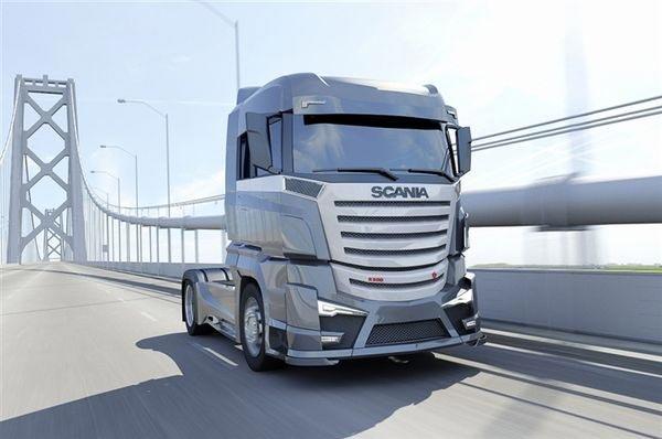 Концепт Scania R1000