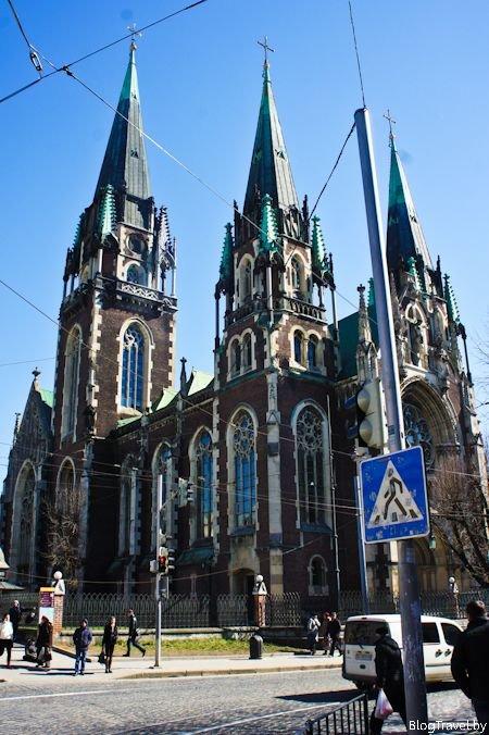 Костел Святой Эльжбеты во Львове