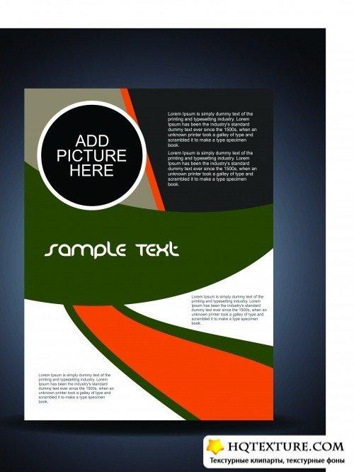Креативные обложки флаеры и брошюры | Presentation of creative flyer and cover brochure vector