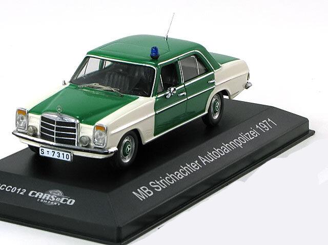 Масштабная модель автомобиля Mercedes-Benz 200, масштаб 1/43, металл, пластик, произведена Cars&Co