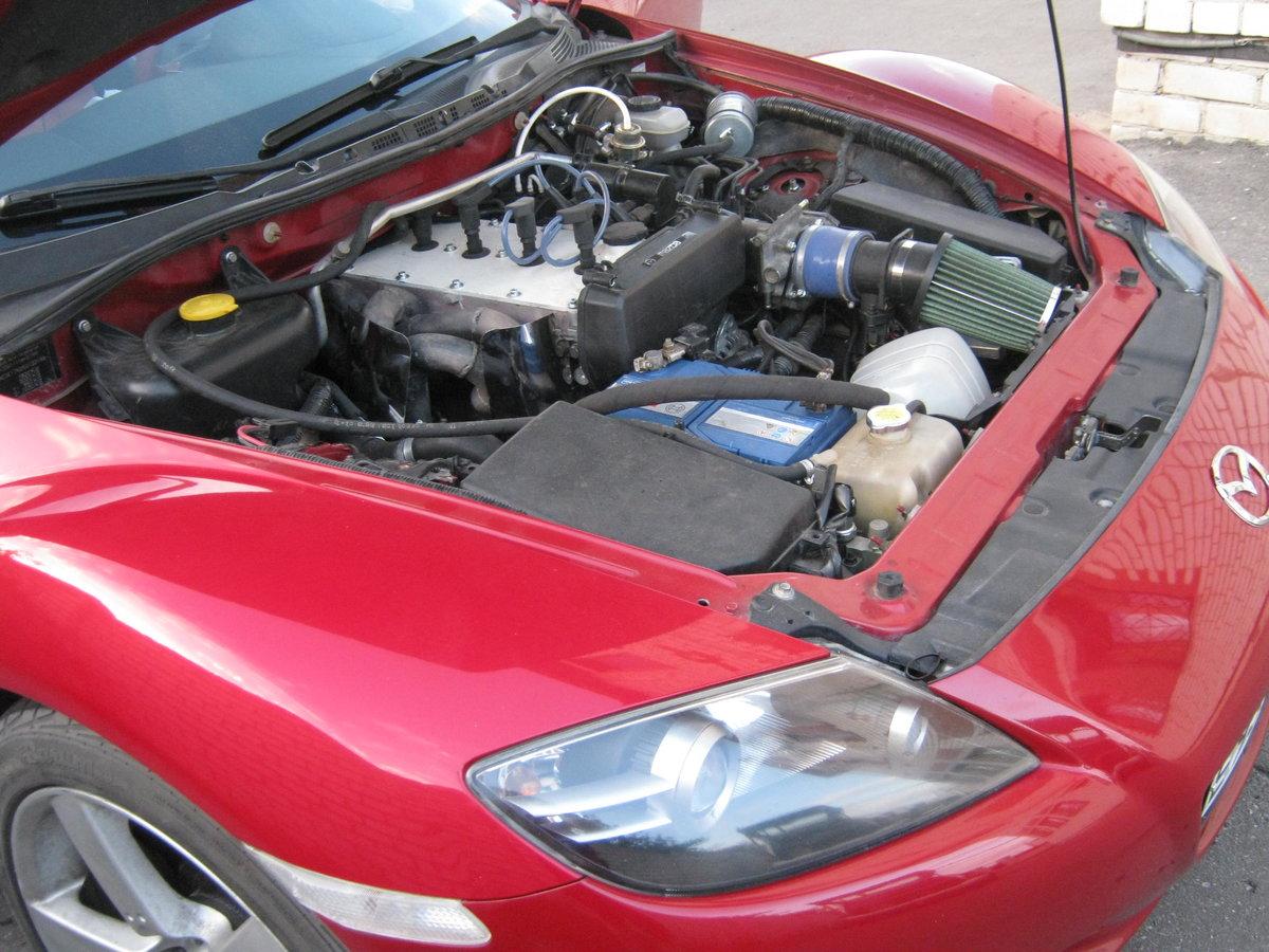 Mazda RX-8 с мотором от Приоры
