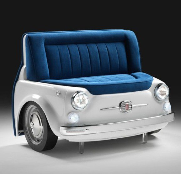 Мебель из авто - Fiat диван
