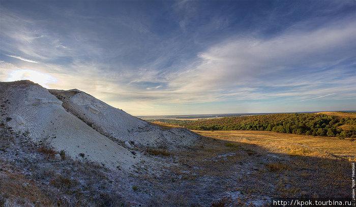 Меловые горы Урюпинск, Россия
