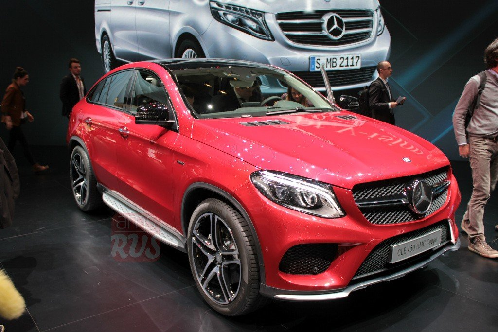 """Mercedes-Benz GLE Coupe"" — card from user Dimakoldas in ..."