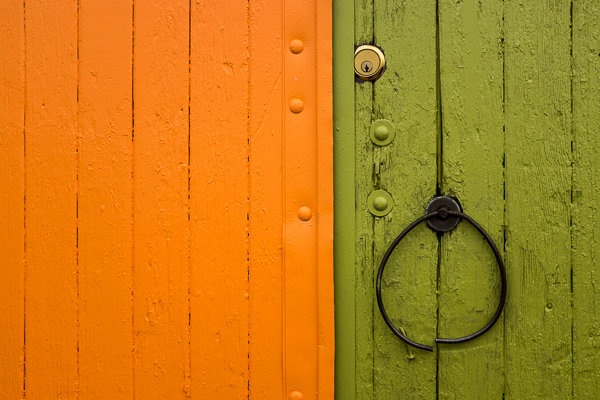 Минимализм: яркие цвета