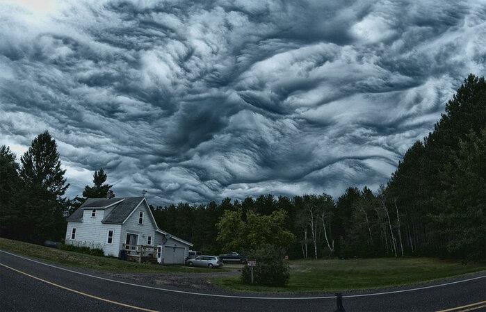Мистические облака асператус