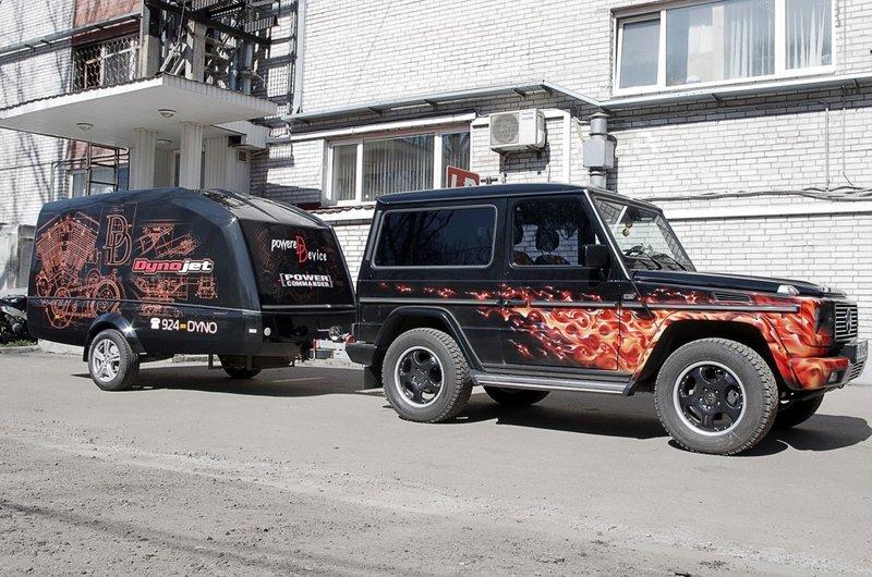 Motortester - оклейка автомобиля и фургона виниловой пленкой
