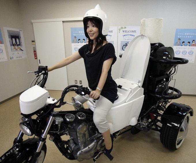 Мотоцикл-туалет. Не навалишь - не поедешь! | STENA.ee
