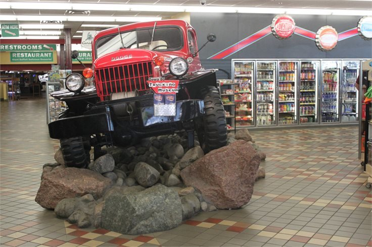 Музей дальнобойщиков в штате Айова Блог США