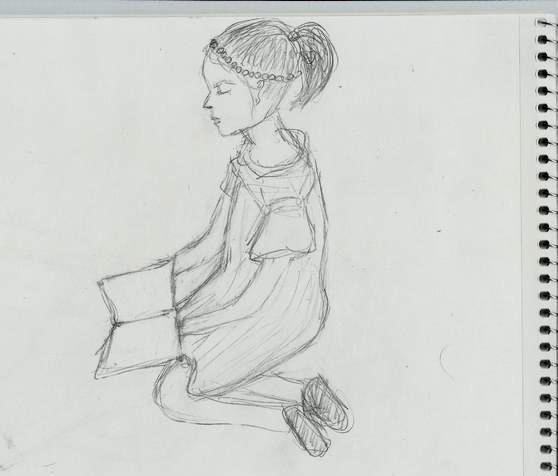 Наброски карандашом - научиться рисовать