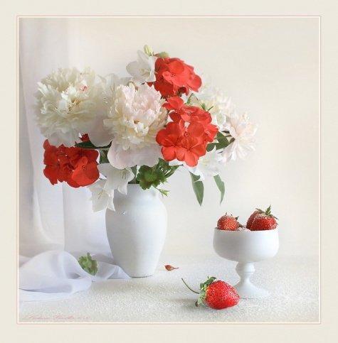 Натюрморты с цветами - Фото: красивые фотографии природы и ландшафтного дизайна, оформления клумбы - цветочный портал Ваш Сад