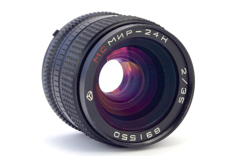 Объектив МС Мир-24Н 2/35 (Arsat H 2/35). Обзор и примеры фото. Фотографические объективы