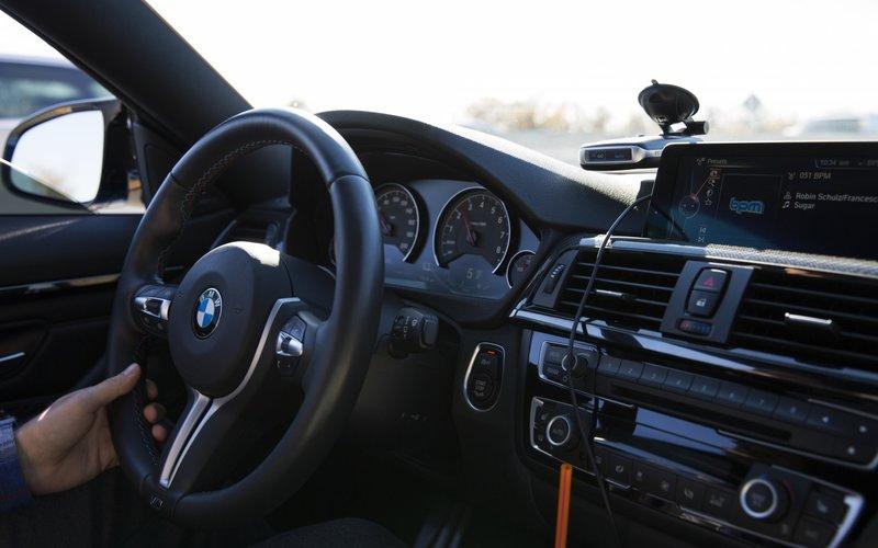 Обои bmw, m4, f82, interior - авто фото, обои на рабочий стол bmw - скачать