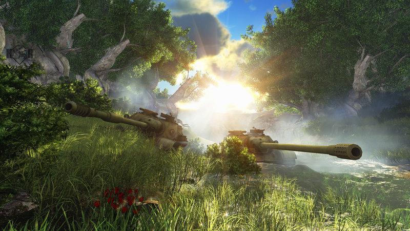 Обои Wot, world of tanks, танки, су-122-54 картинки на рабочий стол, фото скачать бесплатно