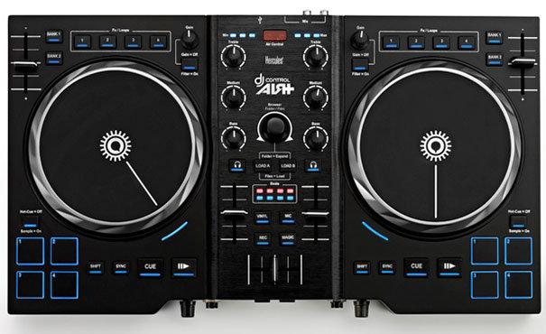 Обзор контроллера Hercules DJ Control Air+ и наушников Hercules HDP DJ Light-Show ADV