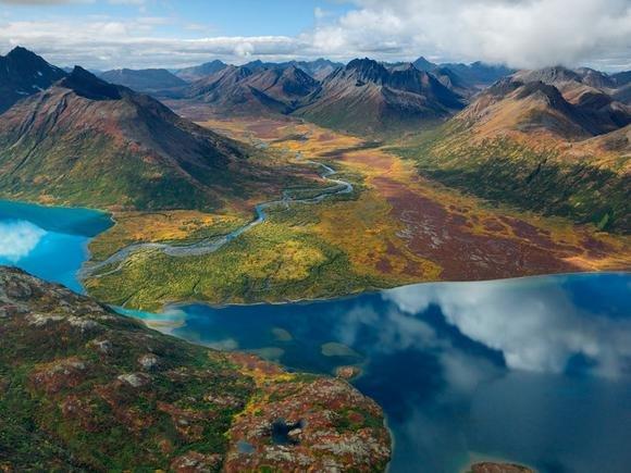 Озеро Чикуминук, Аляска