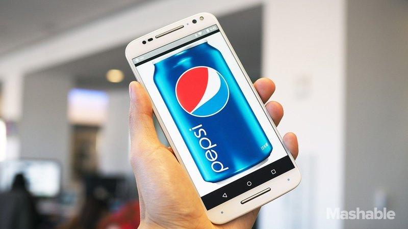 Pepsi Phone — умный телефон от производителя газировки