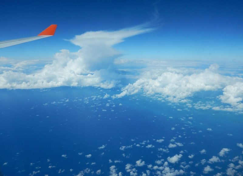 Перелет Москва - Гавана из окна A330 - Страница путешественника