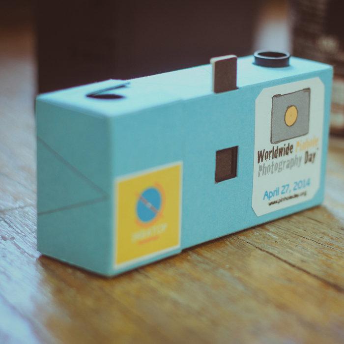 Фотоаппарат из спичечного коробка своими руками