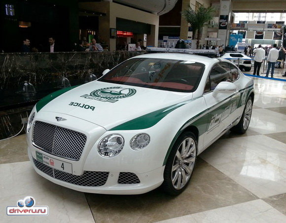 Полиция Дубая - Автомобили, машины