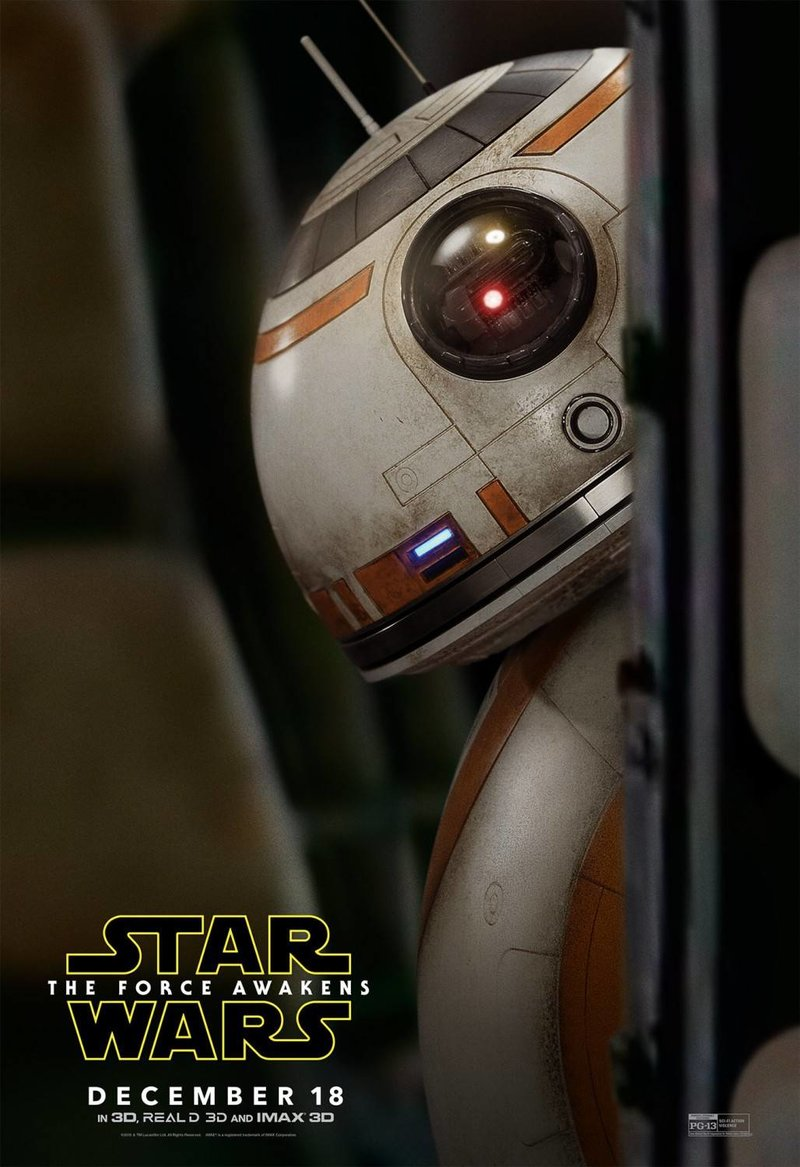 Постер N114040 к фильму Звездные войны: Эпизод 7 - Пробуждение Силы (2015)