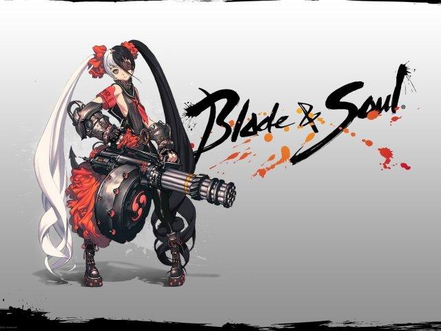 Постер онлайн игры Blade & Soul