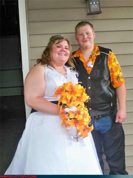 Прикольные свадебные фотографии (69 фото)